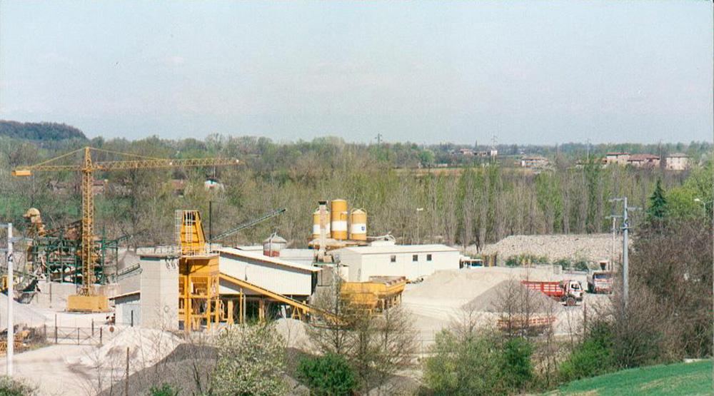 La Storia - Vista cantiere 1990